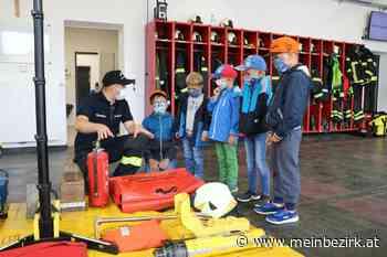 Ferienprogramm: Ferienprogramm Freiwillige Feuerwehr Maria Schmolln - Braunau - meinbezirk.at