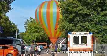 Heißluftballon muss in Blieskastel-Lautzkirchen notlanden - Saarbrücker Zeitung