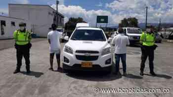En Chinchiná recuperaron una camioneta que fue robada - BC NOTICIAS - BC Noticias
