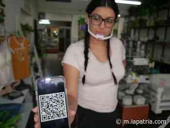 Usarán código QR para atender a sus clientes en Chinchiná - La Patria.com