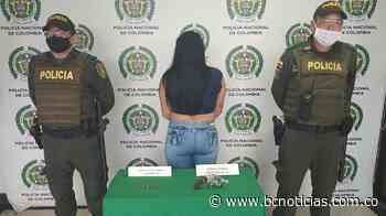 En Chinchiná capturaron a una mujer portando un arma de fuego - BC Noticias
