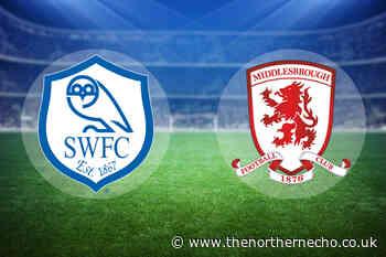 LIVE: Sheffield Wednesday 1 Middlesbrough 1