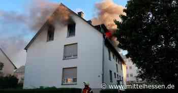 In Limburg brennt ein Mehrfamilienhaus - Mittelhessen