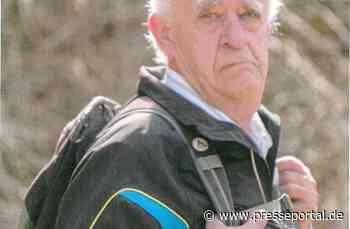 POL-LM: 86 Jahre alter Mann aus Limburg noch immer vermisst - Presseportal.de