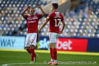 Sheffield Wednesday 1 Middlesbrough 2
