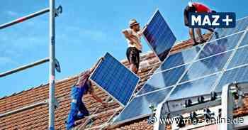 Photovoltaik in Zeuthen: Gemeinde will Gebäude mit Solardächern ausstatten - Märkische Allgemeine Zeitung