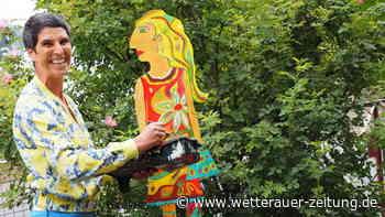 Nicole Wächtler: Kunstprojekt im Vorgarten - Wetterauer Zeitung