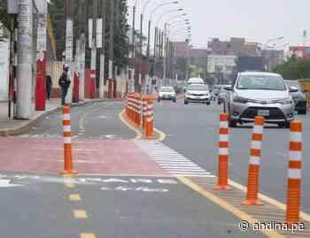 ¡Atención! implementan ciclovías en avenidas Francisco Pizarro y Túpac Amaru - Agencia Andina