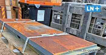 Geesthacht: Diebe klauen acht Tonnen Metall - Lübecker Nachrichten