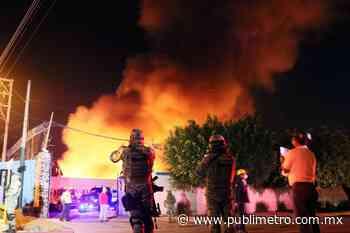 Incendio en fábrica de Jiutepec se prolongó durante 7 horas - Publimetro México