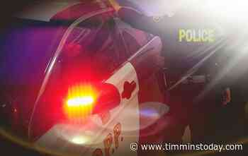 OPP cruiser involved in a collision in Hearst - TimminsToday