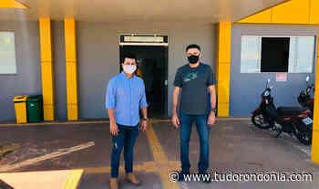 Deputado Marcelo Cruz visita novas instalações do Hospital de Pimenta Bueno - Tudo Rondônia
