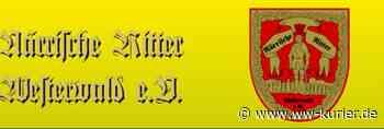 Herrensitzung 2021 der Närrischen Ritter Westerwald in Herschbach Corona-bedingt vertagt - WW-Kurier - Internetzeitung für den Westerwaldkreis