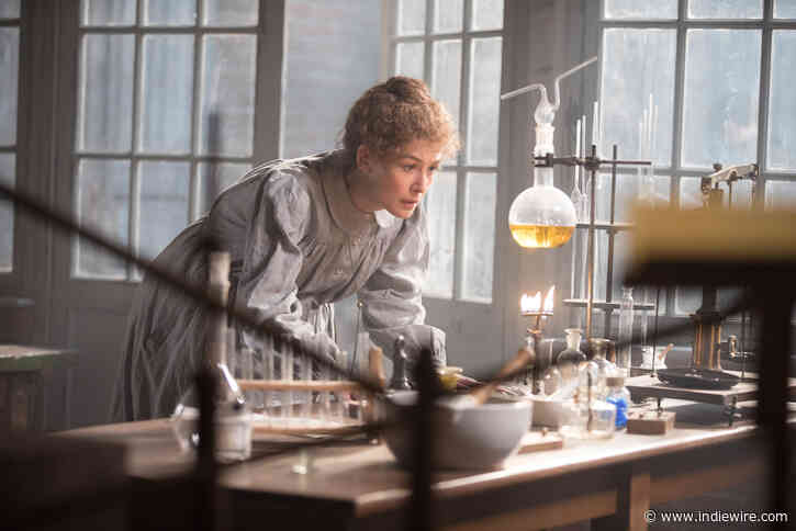 'Radioactive' Star Rosamund Pike Talks Avoiding 'Insipid' Biopic Traps and 'Strong Woman' Tropes - IndieWire