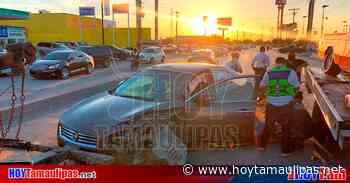 Tamaulipas Seguridad Maestro queda lesionado tras choque en Matamoros - Hoy Tamaulipas
