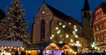 Mosbach: Weihnachtsmarkt fällt 2020 aus - Mosbach - Rhein-Neckar Zeitung