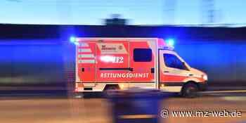 Hettstedt: Mann bei Arbeitsunfall tödlich verletzt | MZ.de - Mitteldeutsche Zeitung