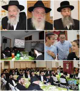 New York Rabbonim Join Postville Siyum - Anash.org - Good News