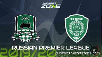 2019-20 Russian Premier League – Krasnodar vs Akhmat Grozny Preview & Prediction - The Stats Zone