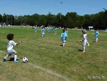 Foot à Saint-Hilaire-de-Riez : 71 jeunes s'entraînent avec la Fondation du Real Madrid - actu.fr