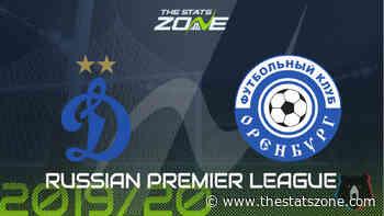 2019-20 Russian Premier League – Dinamo Moscow vs Orenburg Preview & Prediction - The Stats Zone