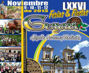 Ferias y Fiestas en Guayatá, Boyacá - Ferias y fiestas de Colombia - Viajar por Colombia