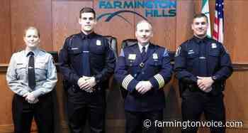 Farmington Hills Police Department promotes three – Farmington Voice - Farmington Voice