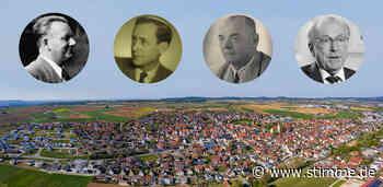 Die Gemeinde Ilsfeld ist reich an Käpsele - Heilbronner Stimme