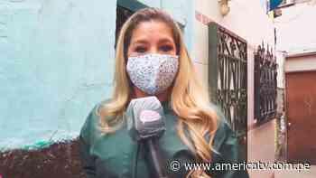 Sofía Franco pasó tremendo susto en el Callao mientras grababa entrevista - América Televisión