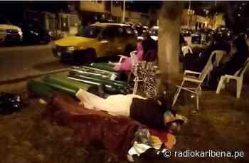 COVID-19 | Duermen en la calle para comprar oxígeno en El Callao - RADIO KARIBEÑA