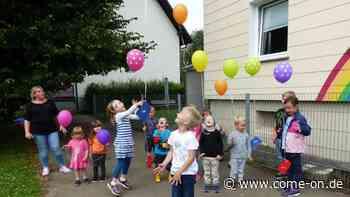 Entlasskinder des Kindergartens Regenbogen in Rönsahl werden verabschiedet - Meinerzhagener Zeitung