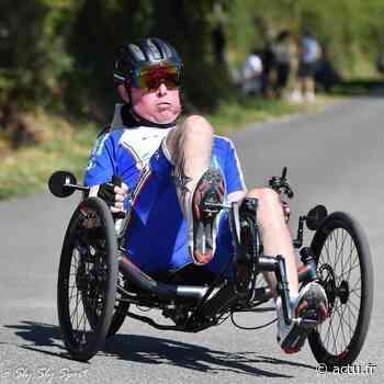 À Pont-Audemer, Jérôme Loupy peut voir la vie en trois roues et veut battre son record de distance - L'Eveil de Pont-Audemer