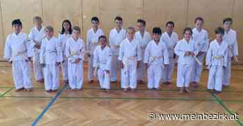 Erfolgreiche erste Gürtelprüfung: Fürstenfeld hat 16 neue Karate Kids - meinbezirk.at
