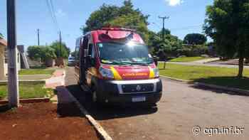 Idoso sofre ferimentos após queda no Bairro Brasilia - CGN
