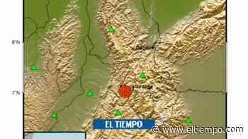 Fuerte temblor de magnitud 5,0 se registró este martes en Santander - El Tiempo