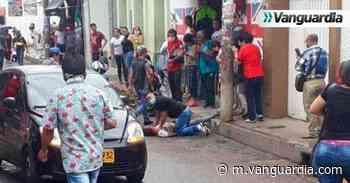 Un hombre y una mujer fueron baleados en el centro de Piedecuesta - Vanguardia