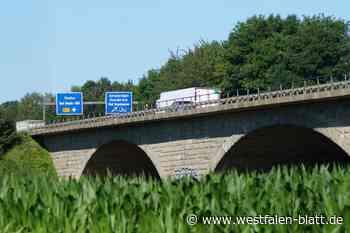 A2: Abfahrt nach Vlotho gesperrt - Westfalen-Blatt