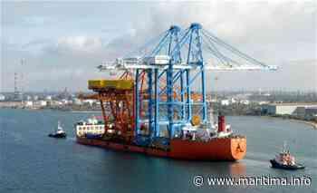 Fos sur Mer - Economie - Les plus grands portiques du monde arrivent à Fos - Maritima.info