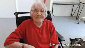Lillers : Yvonne Blottiau 100 ans et toujours le sourire - La Voix du Nord