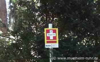 Notruftafeln auf Mülheimer Friedhöfen