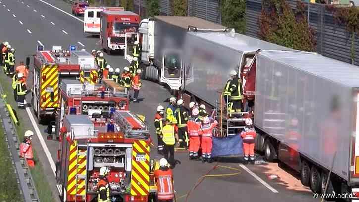 Sittensen: Lkw-Fahrer stirbt bei Unfall auf A1 - NDR.de