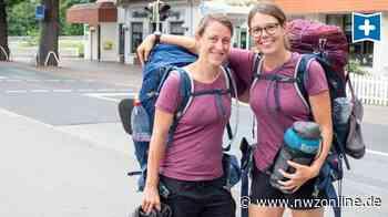 Oldenburg als Zwischenstopp: Jenny Schiradin wandert mit Freundin von Wiesbaden nach Wilhelmshaven - Nordwest-Zeitung