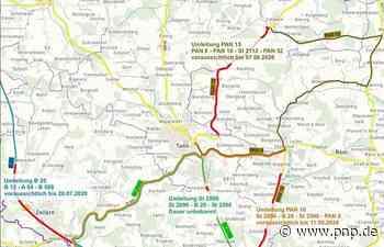 Überblick: Diese Straßen sind aktuell gesperrt - Tann - Passauer Neue Presse