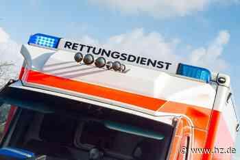 Paletten in zwei Metern Höhe kippen: 18-Jähriger in Steinheim bei Arbeitsunfall schwer verletzt - Heidenheimer Zeitung