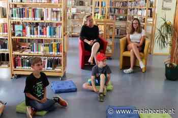 Lesung in Traisen: Baby-Drache begrüßt Eschenauer Kinder in der Bibliothek - meinbezirk.at