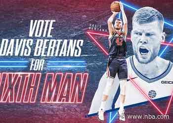 How Davis Bertans crafted one of the best shooting seasons in NBA history coming off the bench