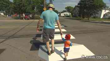 No illusions: Summerside's new 3D crosswalks not popping out - CBC.ca