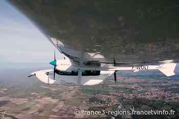 Royan : d'anciens ingénieurs d'Airbus préparent le vol inaugural d'un avion unique hybride-électrique - France 3 Régions