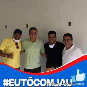 Iaçu: Pré candidato Jau Ribeiro decola com o apoio do atual prefeito - chapada notícias
