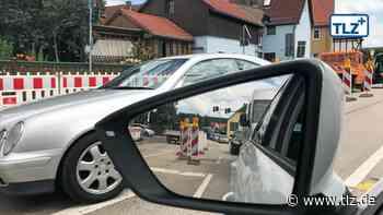Bachstraße soll Donnerstag in Bad Berka freigegeben werden - Thüringische Landeszeitung